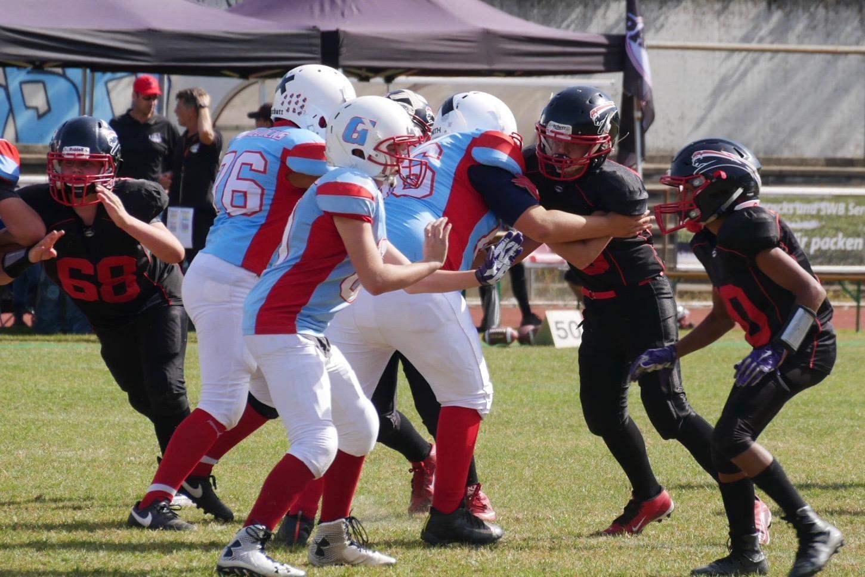 Panther U13 gewinnt nach stotterndem Start bei den Gamecocks